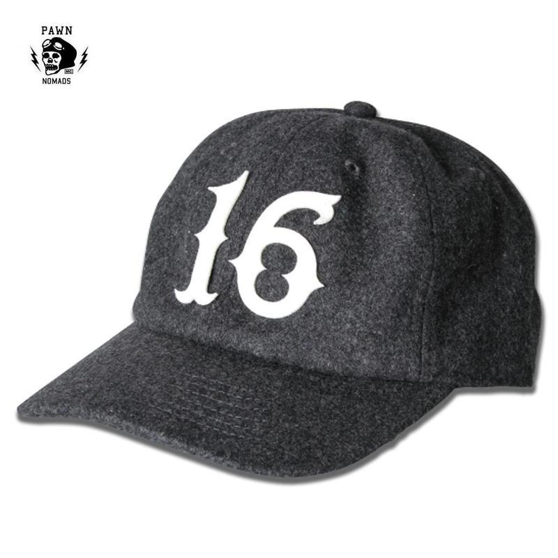 PAWN NOMADS WOOL CAP 16グレー