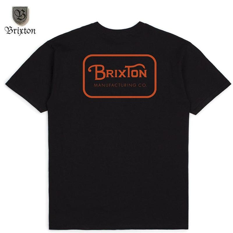 BRIXTON(ブリクストン)GRADE S/S STT ブラック