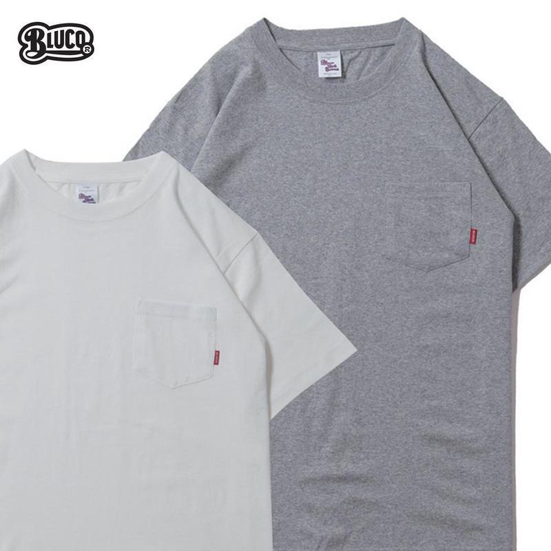 BLUCO(ブルコ) OL-700 ORIGINAL 2PCS TEE'S グレー&ホワイト