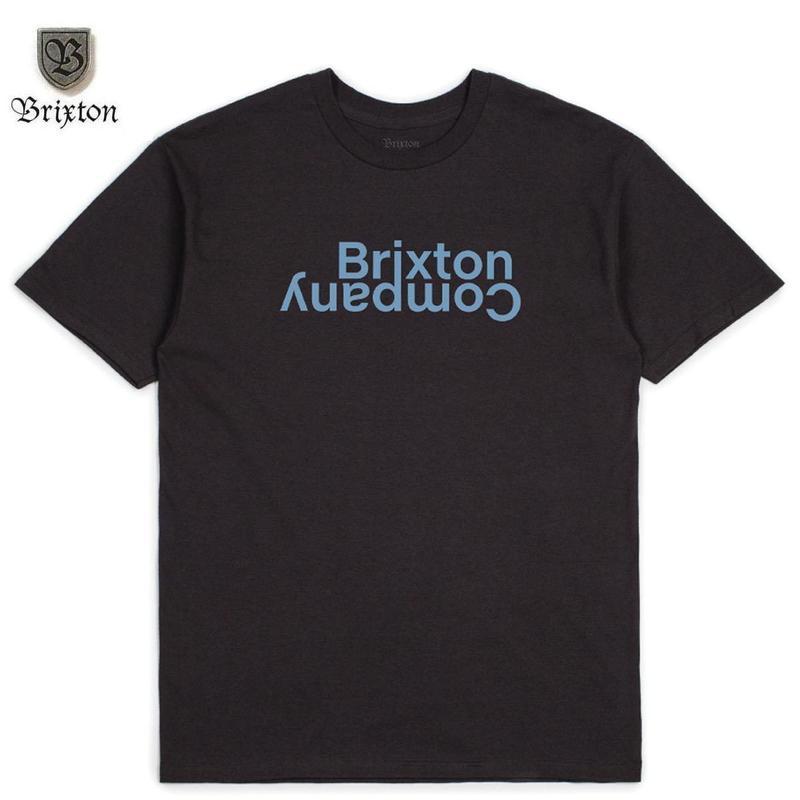 BRIXTON(ブリクストン) REVERT II S/S STT ネイビー