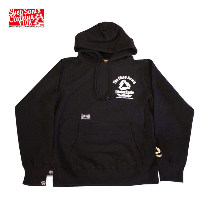 "SAM'S MC ""STRENGTH PARKA"" (BLACK)"