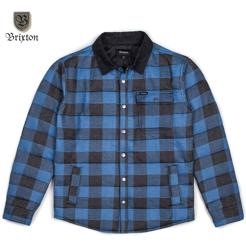BRIXTON(ブリクストン) CASS JACKET BLUE PLAID