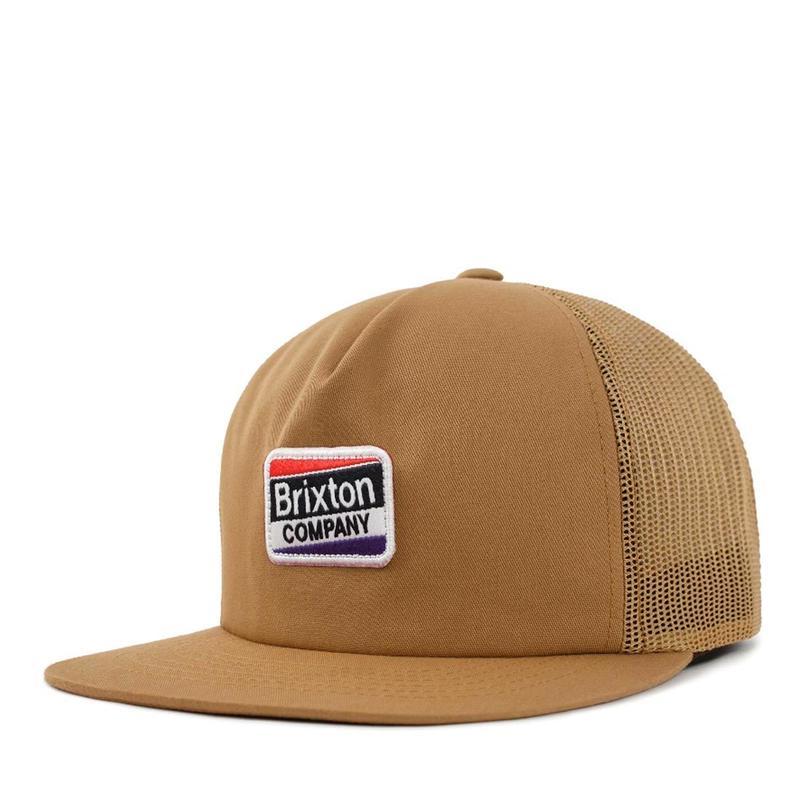 BRIXTON(ブリクストン)WORDEN MESH CAP ベージュ