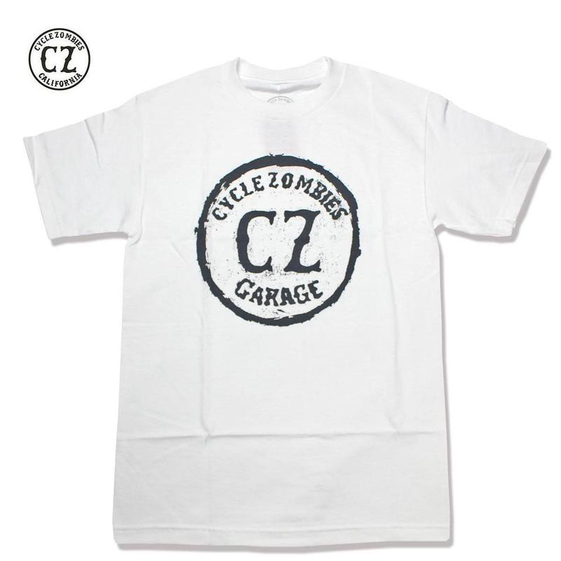 Cycle Zombies(サイクルゾンビーズ)CA3 Standard S/S T-Shirt ホワイト