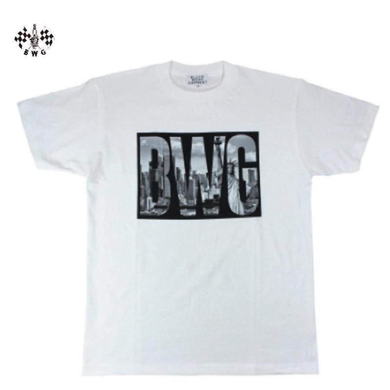 BLUCO(ブルコ)BLUCO(ブルコ)B.W.G NY Tシャツ ホワイト