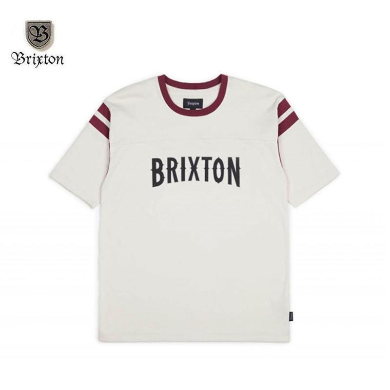 BRIXTON(ブリクストン) BENSON S/S KNIT ホワイト