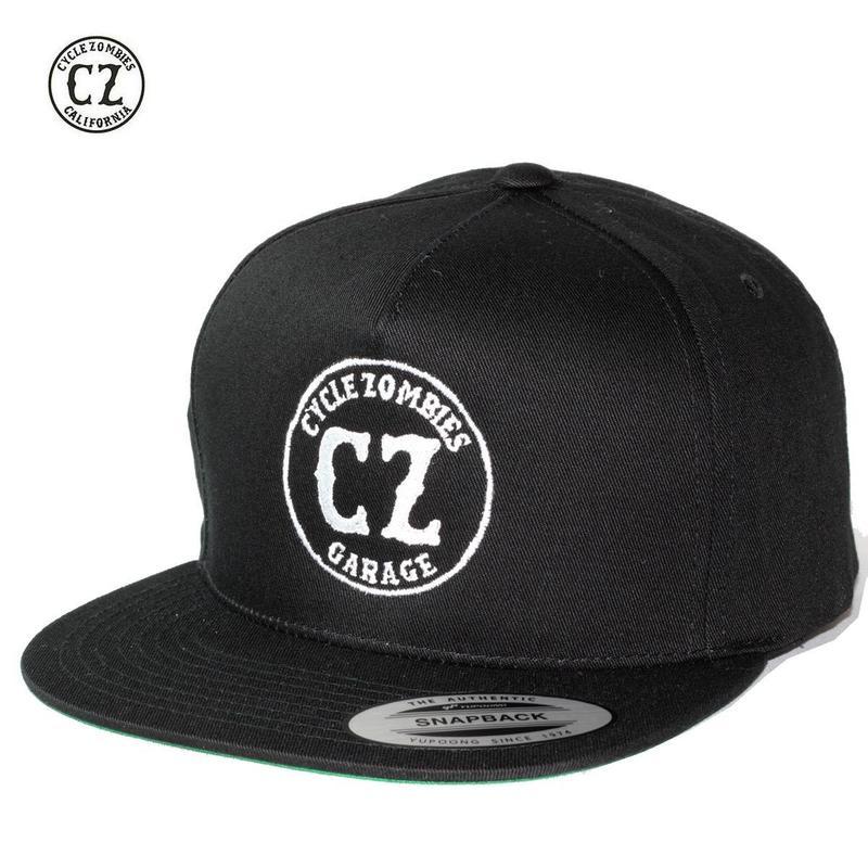 Cycle Zombies(サイクルゾンビーズ)GARAGE Premium Twill Snapback Hat Black