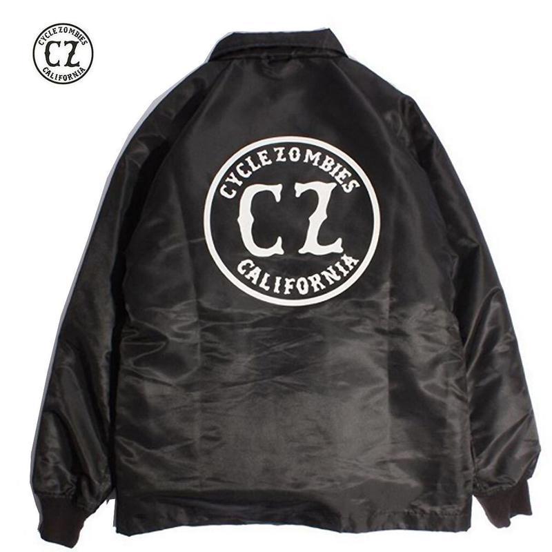 Cycle Zombies(サイクルゾンビーズ)CALIFORNIA Premium Coaches Jacket Black