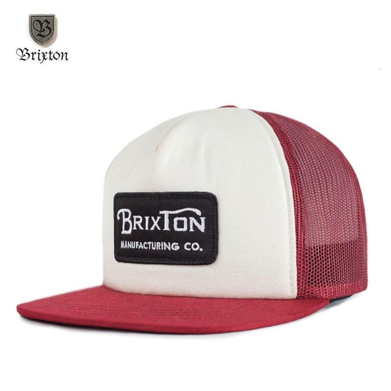 BRIXTON(ブリクストン) GRADE MESH CAP バーガンディ