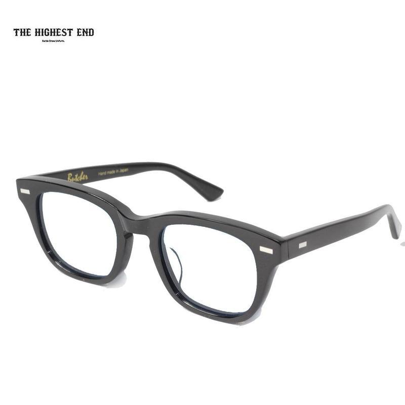 THE HIGHEST END(ザ ハイエスト エンド)xUNCROWD(アンクラウド)TE-013 Butcher-Flat BKフレームxクリアレンズ