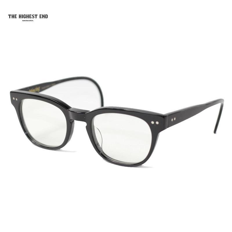 THE HIGHEST END(ザ ハイエスト エンド)xUNCROWD(アンクラウド)TE-010 Mincing ブラックフレームx調光レンズ