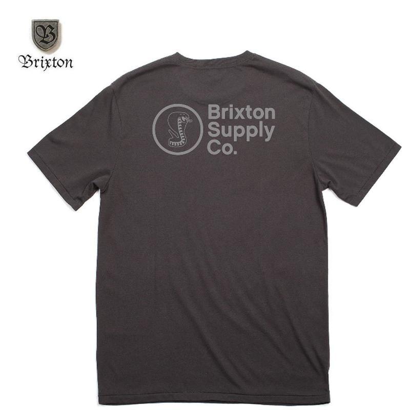 BRIXTON(ブリクストン)FANG S/S STT ブラック