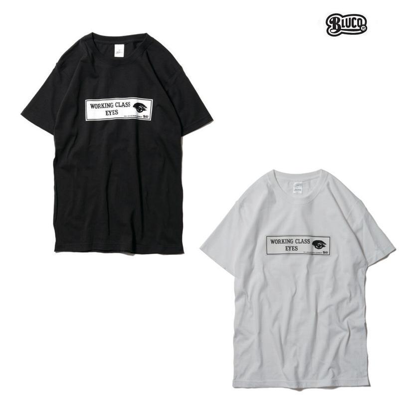 BLUCO(ブルコ)OL-802-018 SUPER HEAVY WEIGHT TEE'S -WCE-全2色(ブラック・ホワイト)