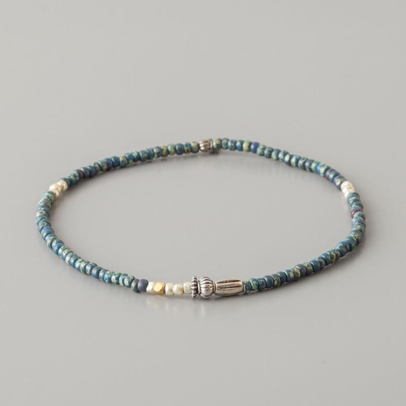 ミネラルビーズアンクレット / Mineral Beads Anklet