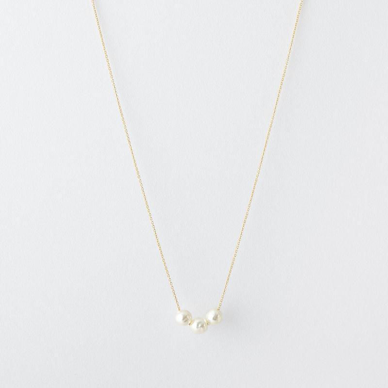 バロックパール3ポイントネックレス  /  Baroque pearl 3 points Necklace