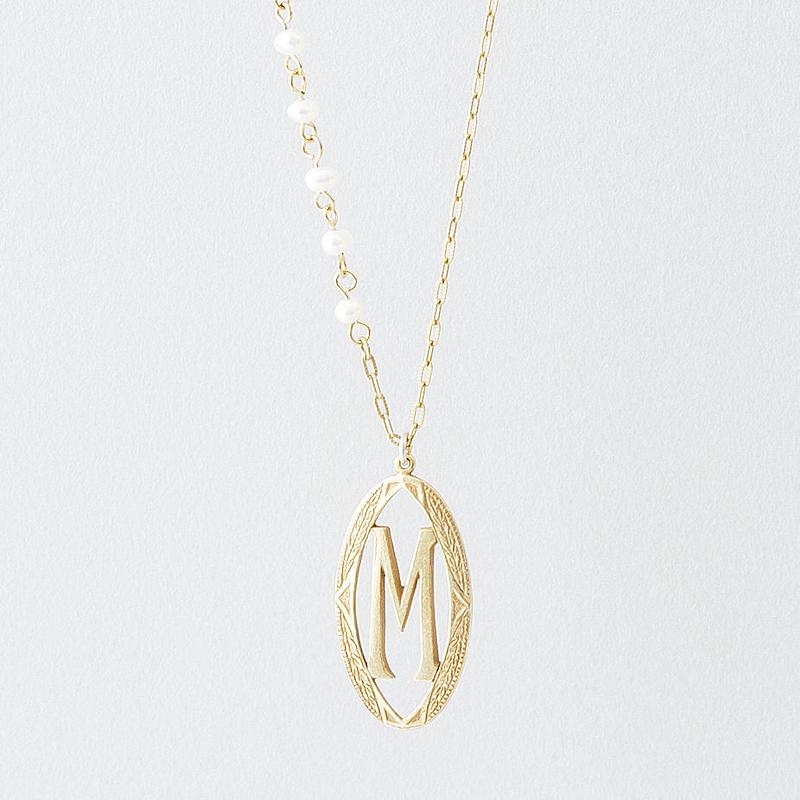 イニシャルネックレス  /  Initials Necklace