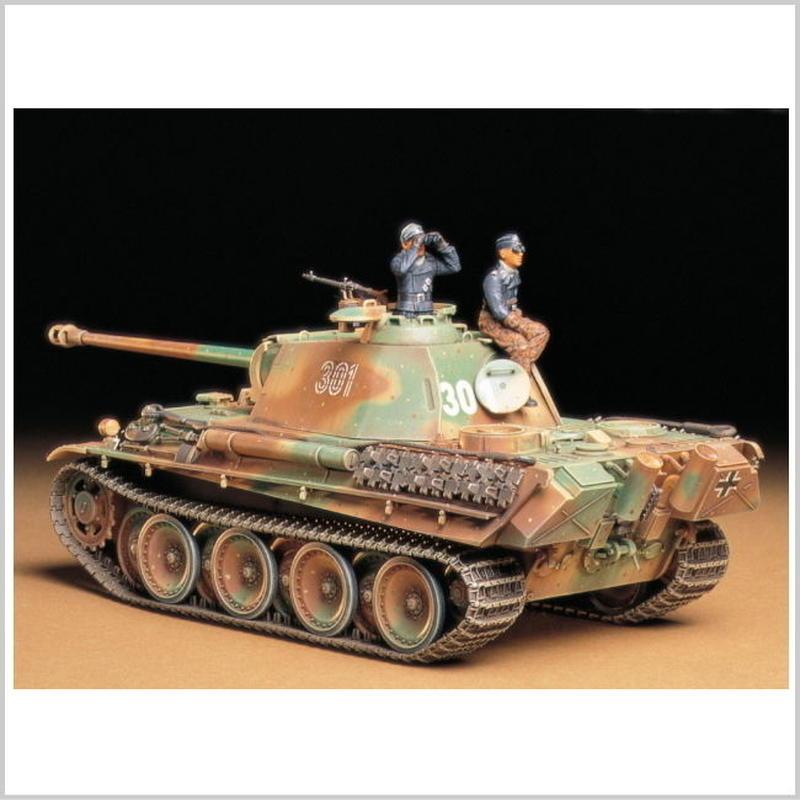 プラモデル タミヤ 1/35 ドイツ戦車 パンサーG 後期型  35176