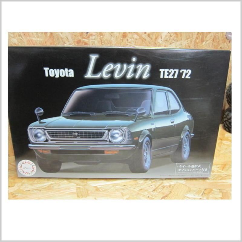 アウトレット品 フジミ 1/24 ID53 トヨタ レビン TE27 '72