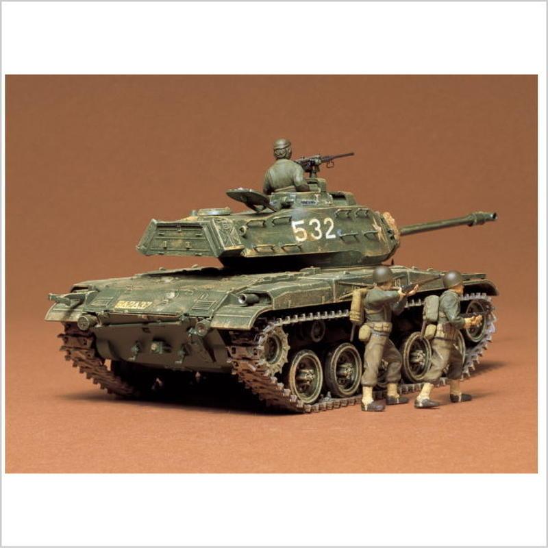 プラモデル タミヤ 1/35 アメリカ・M41 ウォーカーブルドッグ 35055