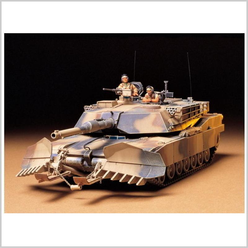 プラモデル タミヤ 1/35 アメリカ M1A1 マインプラウ  35158