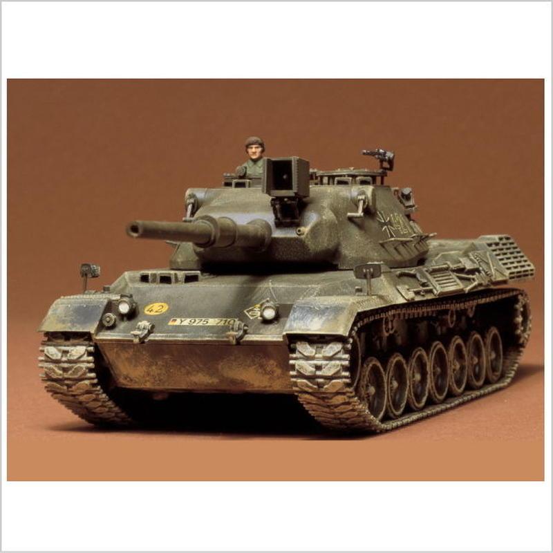 プラモデル タミヤ 1/35 西ドイツ・レオパルド戦車 35064