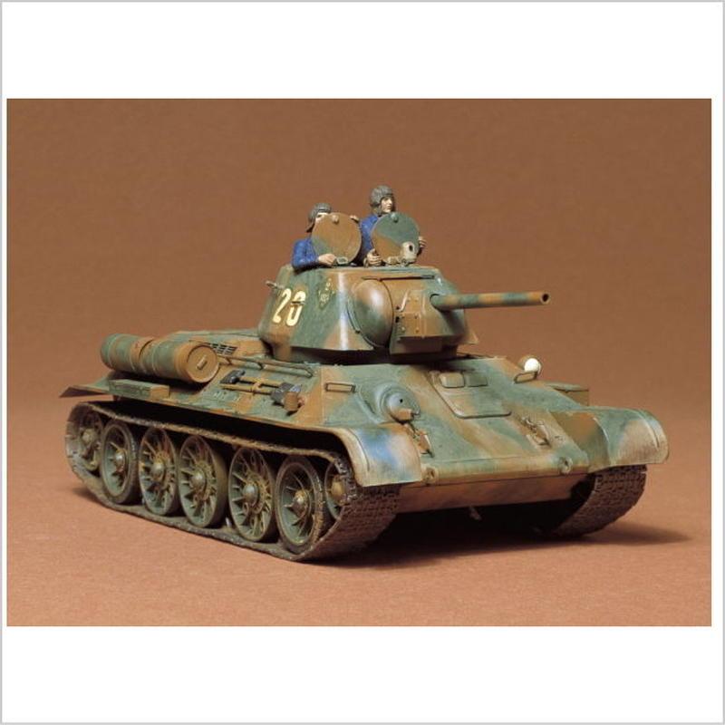 プラモデル タミヤ 1/35 ソビエト T34/76戦車 1943年型 35059