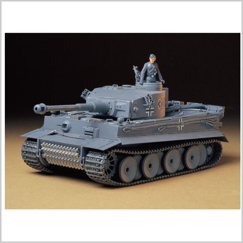 プラモデル タミヤ 1/35 ドイツ重戦車 タイガーI 初期生産型  35216