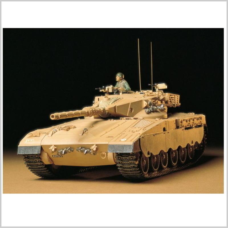 プラモデル タミヤ 1/35 イスラエル・メルカバ主力戦車  35127