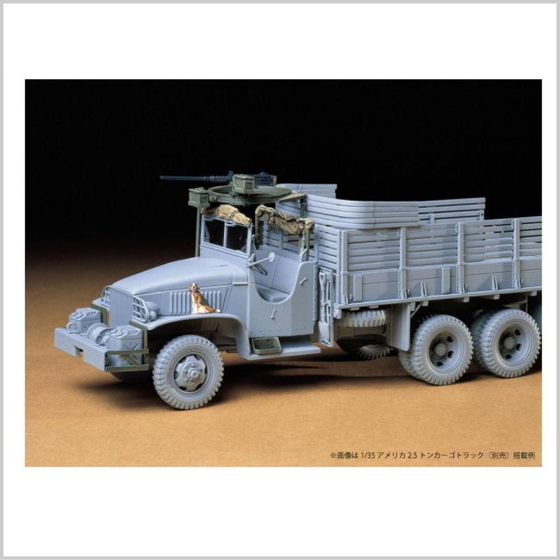 プラモデル タミヤ 1/35 21/2トン6×6カーゴトラック・アクセサリーセット 35231