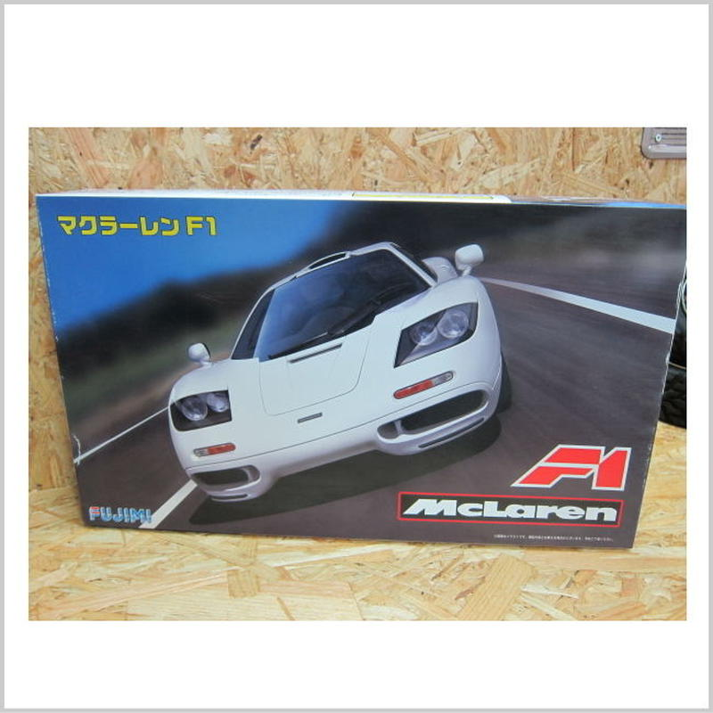 アウトレット品 フジミ 1/24 リアルスポーツカーシリーズ No.66 マクラーレン F1