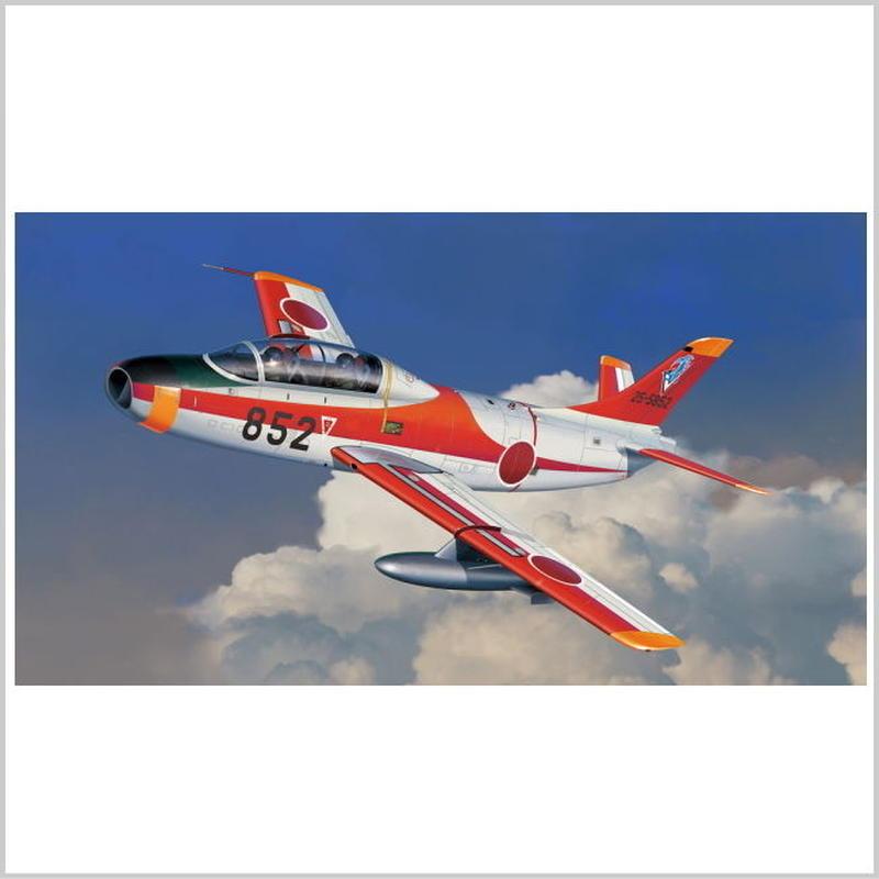 プラモデル プラッツ プラッツ 1/72 航空自衛隊 T-1B ジェット練習機 AC-22