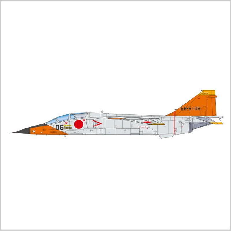 プラモデル プラッツ プラッツ 1/72 航空自衛隊 FS-T2改 AC-25