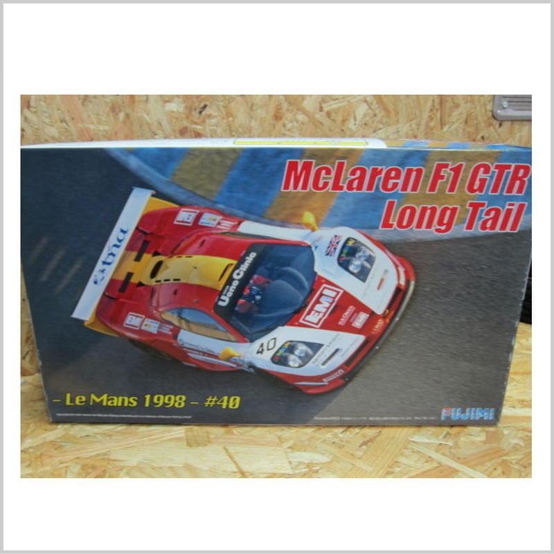 アウトレット品 フジミ 1/24 リアルスポーツカーシリーズ No.59 マクラーレン F1 GTR ロングテール ル・マン 1998 #40