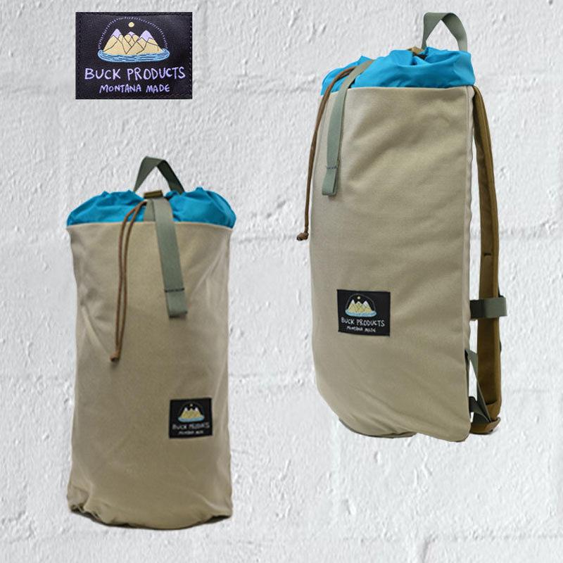 BUCK PRODUCTS Bucket Bag mini バックプロダクツ バケットバック ミニ ハンドメイド 男女兼用 バックパック  PCバッグ リュック  ケイブ