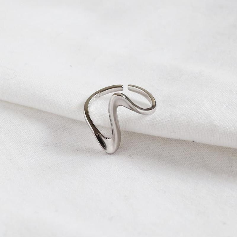 [silver925] wave ring