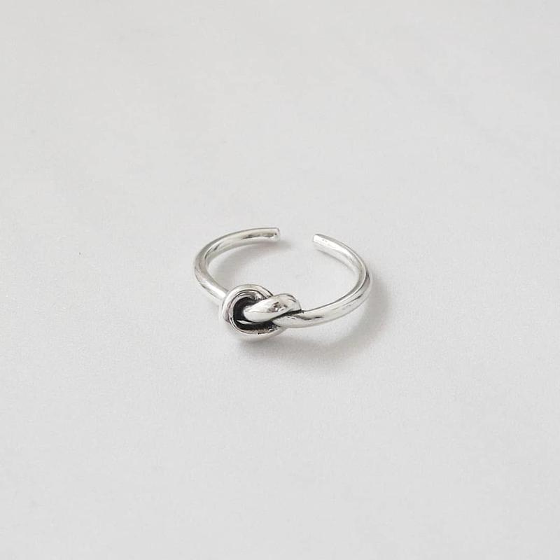 [silver925] knot ring