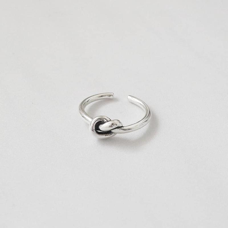 ラスト1 [silver925] knot ring