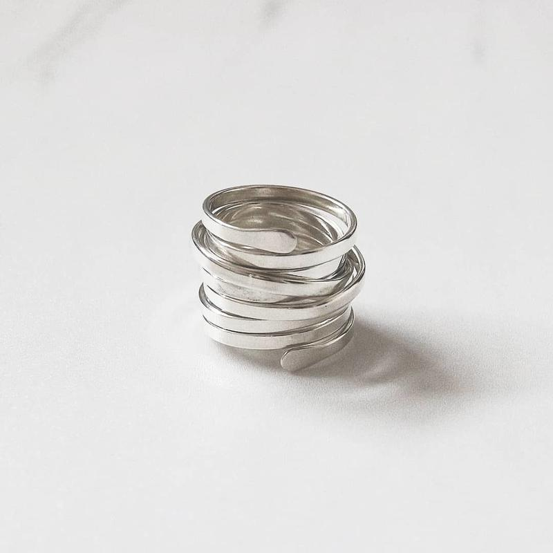 ラスト1 [silver925] spring ring