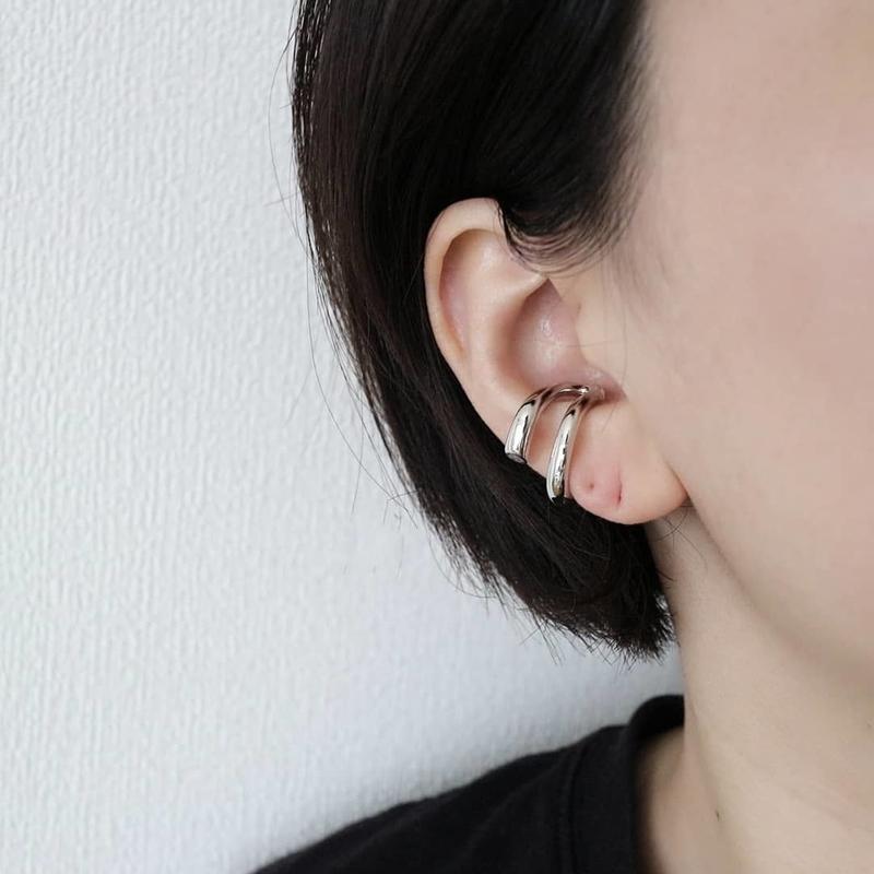 double circle earcuff