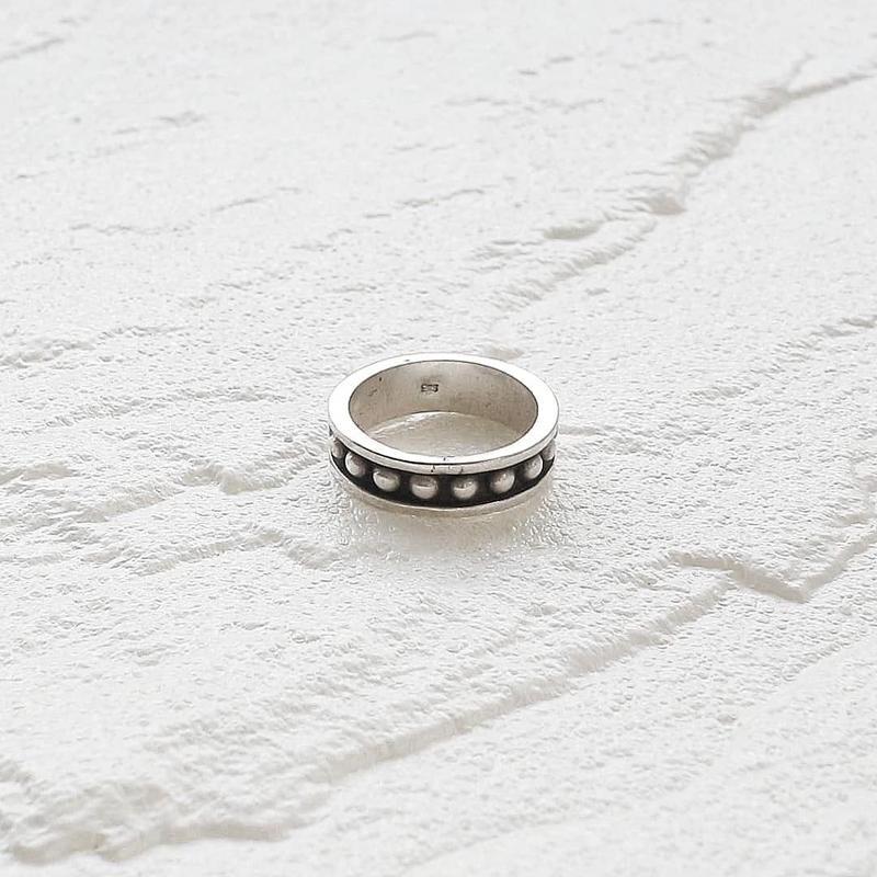[silver925] Dot ring