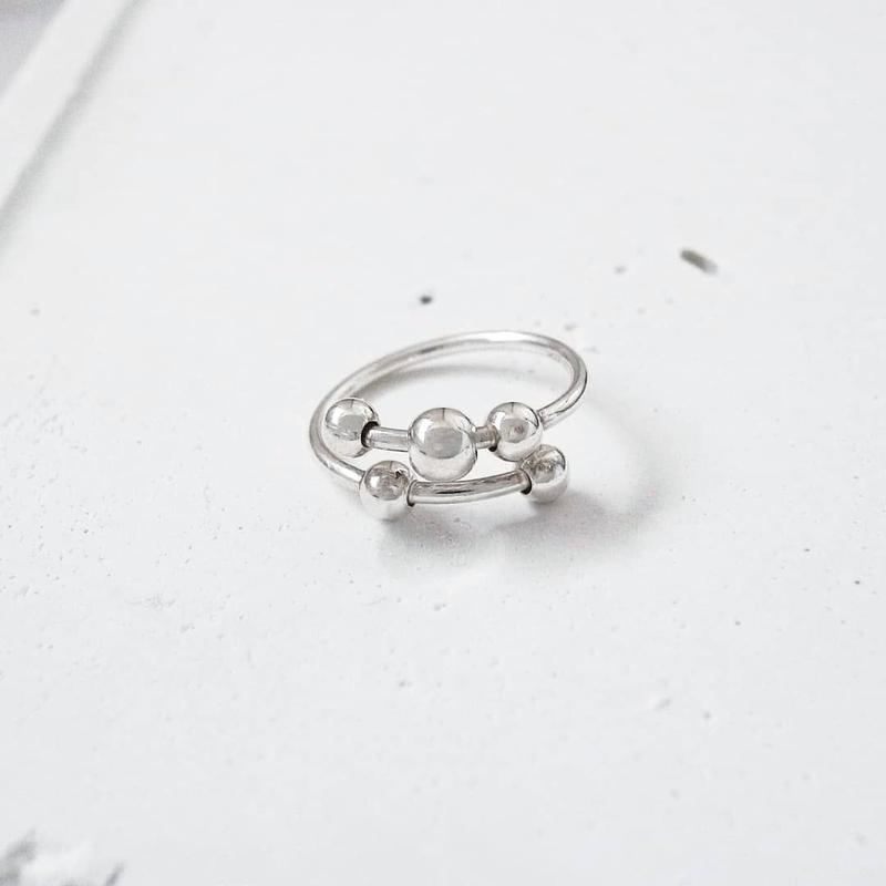 [silver925] swing ring