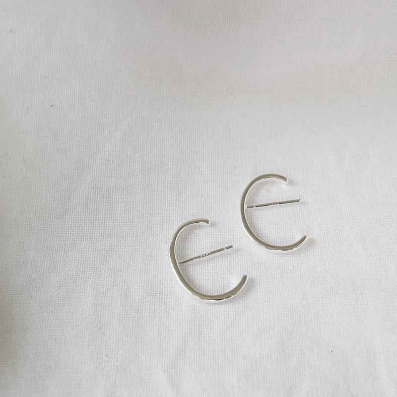 [silver925] simple piercecuff