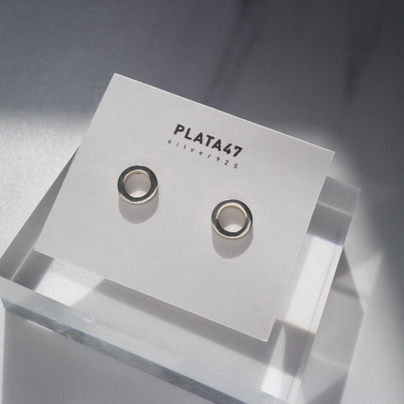 [silver925] circle pierce