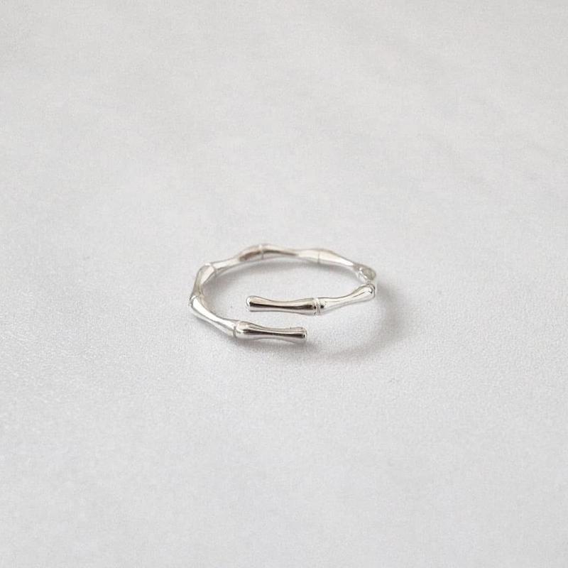 ラスト1 [silver9257] Banboo pinky ring