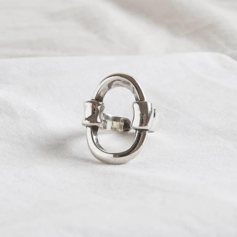 ラスト1 [silver925] oval ring