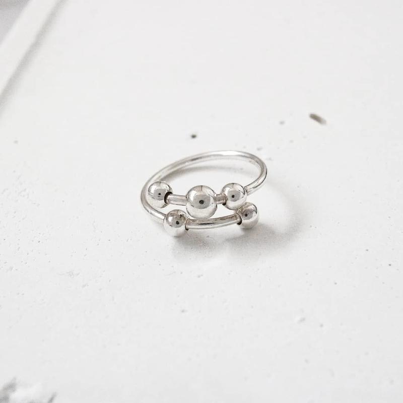 [silver925] Swing ring