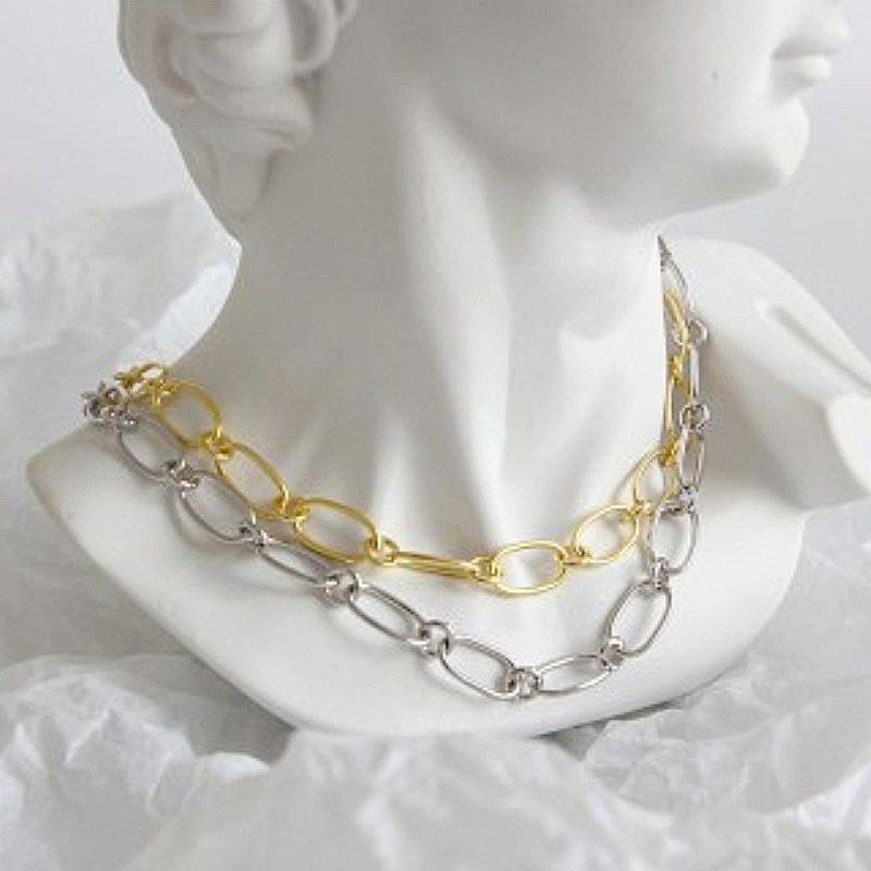 予約販売[silver925] chain  choker