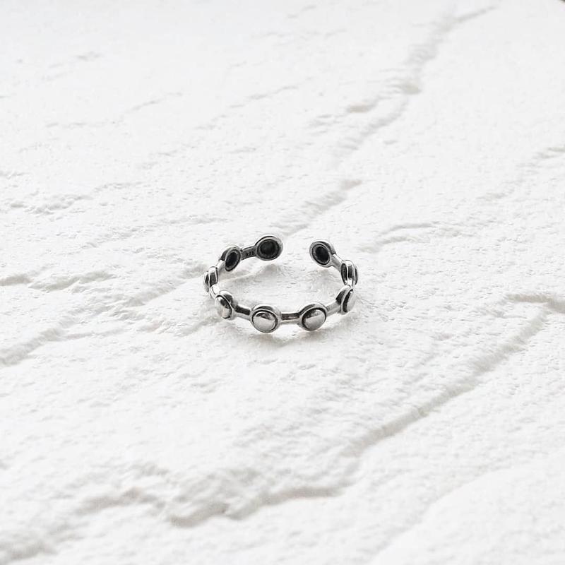 ラスト1点 [silver925] Eternity ball ring