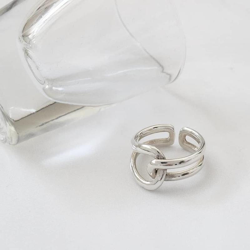 ラスト1 [silver925] roop tie ring
