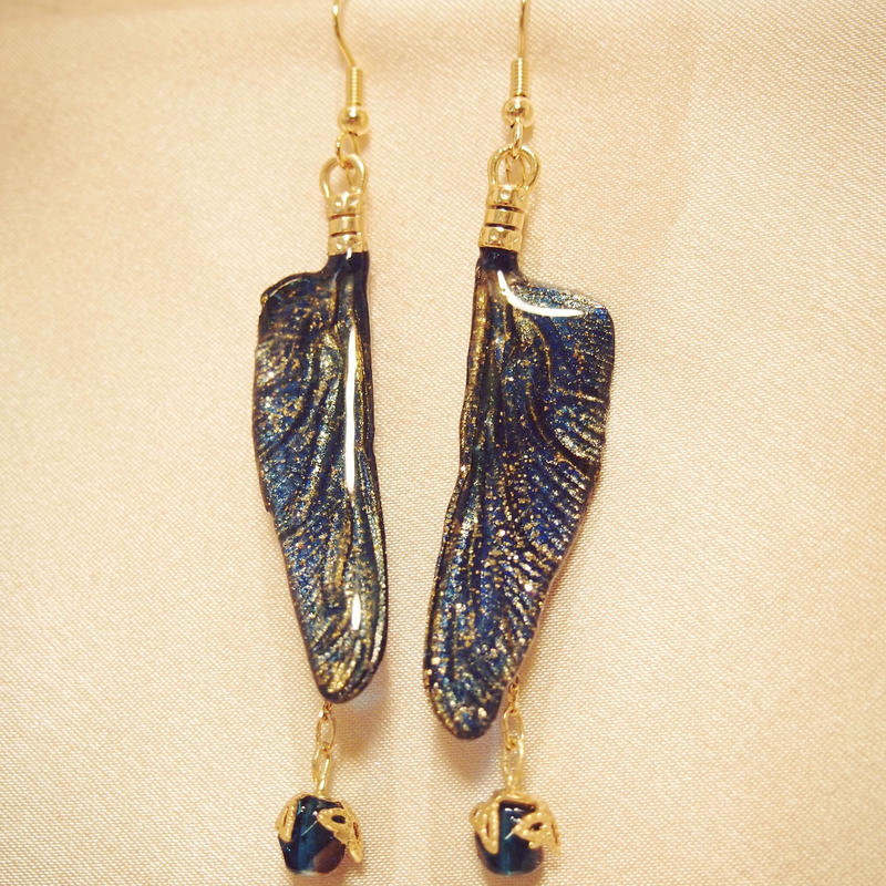 【トンボ】Dragonfly Pierce - Deep Blue -